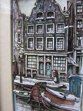 ANTON PIECK - AMSTERDAM 3D Decoupage PRINT BY WONDERWORLD.