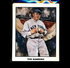 "DYNASTY SPORTS CARDS PROMO ""THE BAMBINO"" BABE RUTH MINT 00001963"