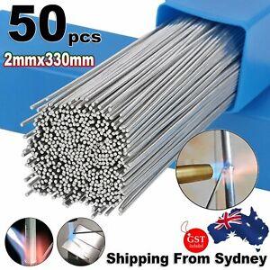 50pcs Aluminium Welding Low Temp Dura Easy Welding Rods Brazing Stick Repair Fix