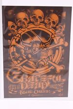GRATEFUL DEAD BLUE CHEER RICKY GRIFFIN PSYCHEDELIC SOLUTION HANDBILL 576