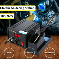Rework Soldering Station Iron LCD Desoldering Holder Temperature Adjust 110-265V