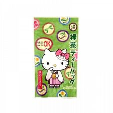 [Offcial Item] HELLO KITTY : Kitea - Matcha Infused Green Teabag  2g * 10pcs.