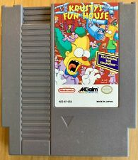 Krusty's Fun House (Nintendo Entertainment System, 1992) Authentic Cartrid. only