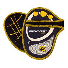 Gripad RX Weight Lifting Gloves – Black & Yellow