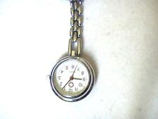 made for you  PERSONALISED nurse  fob watch, for uniform , beautician, therapist