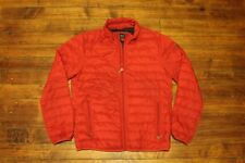 Armani jacket red quilted Armani Jeans coat Mens size 52 small