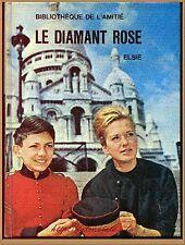 LE DIAMANT ROSE - BIBLIOTHEQUE AMITIE ROMAN LITTERATURE VOYAGES  ENFANTS