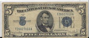1934 D $5 SILVER CERTIFICATE
