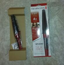 "NEW Remington T|Studio 1""-1 13 wide Curling Wand Silk Ceramic Tech Cl96X7"