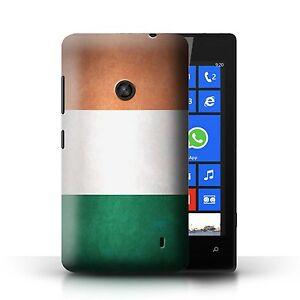 STUFF4 Case/Cover for Nokia Lumia 520/Flags/Ireland/Irish