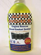 ENGINE BLOCK HEAD GASKET SEALER REPAIR  PERMANENTLY SEALS STEEL HEAD GASKET
