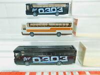 BO768-0,5# 3x Wiking H0/1:87 712 Reisebus/Bus Mercedes/MB O 303, sehr gut+OVP