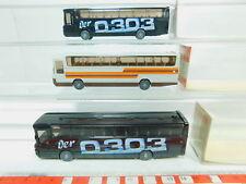 BO768-0, 5 #3x Wiking H0 / 1:87 712 Coach/Bus Mercedes/MB o 303, Very Good +Box