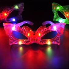 12 PCS Light Up Butterfly Glasses LED Flashing Blinking Sunglasses Rave EDC