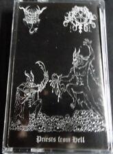 BLACK ANGEL / ETERNAL SACRIFICE - Priest from Hell. Split Tape