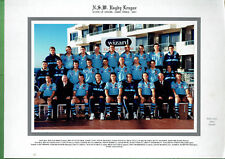 #BW4.  RUGBY LEAGUE TEAM PHOTO - NSW STATE OF ORIGIN GAME 3 2001