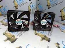 Y.S. TECH KM121225LS DC BRUSHLESS FAN LOT OF 2