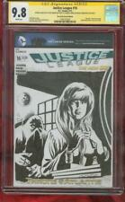 Justice League 16 Cgc Ss 9.8 House of Secrets 92 Swamp Thing Original art sketch