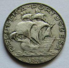 Portugal - 2,5 escudos 1948 en argent