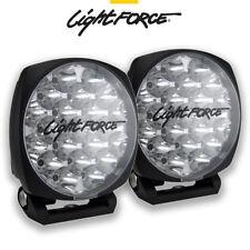 LIGHTFORCE VENOM PAIR 21 LED 75 WATT 150MM DRIVING LIGHTS LAMPS SPOTLIGHTS 850M