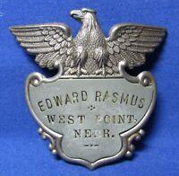 WWII - Vietnam War West Point Nebraska Named Badge