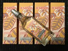 4 X L'Occitane Au Bresil Jenipapo 100ml Eau De Cologne Unisex Fragrance