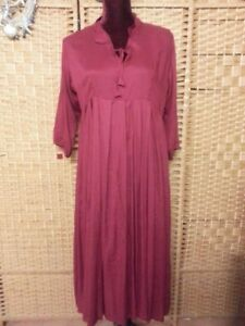 LADIES TREE OF LIFE BURGUNDY DRESS FIT APPROX 12/14