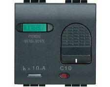 BTICINO L4305/10 INTER SALVAV 1P+N 1 POLO PROTETTO 10A 230 VAC LDN 10 MA LCN 3KA