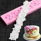 Silicone Pearl Bubble Beads Necklace Stripe Mold Fondant Cake Mould Sugar Paste