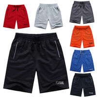 Men's Basketball Gym Casual Shorts Sports Jogging Swim Trousers Pants Drawstring
