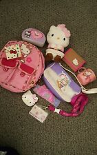 Hello Kitty Lot - Compact, Plush, Backpack, Purse ,clock, lanyard,cup, some NEW