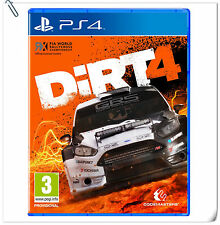 PS4 DiRT 4 Rally SONY PlayStation Codemasters Racing Games