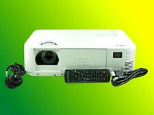 NEC NP-M322X DLP Projector, 3200 Lumens HDMI, bundle Accessories, Nice Condition