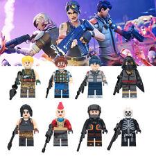 Fortnight Custom fits Lego Minifigure fortnite mini figures 8Pcs/set 2019