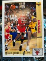 1991 MICHAEL JORDAN Upper Deck #44 Chicago Bulls HOF GOAT ~ 10 GEM Guaranteed
