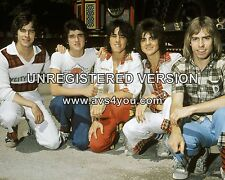 """Bay City Rollers 10"""" x 8"""" Photograph no 34"""