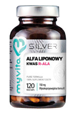 SILVER 100% Kwas Alfaliponowy R-ALA 150mg, 120kaps. MyVita