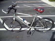 Specialized Sirrus Elite Road Bike Carbon Fiber Fork 27 Speed Shimano Silver