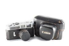 Canon 7 + 55mm (Monture Leica LTM/M39/L39 )