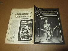 COSMO INFORMATORE FANZINE E CRITICA SUL MONDO DELLA FANTASCIENZA FEBBRAIO 1981