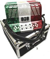 Bonetti Tex Mex 3-Switch Diatonic Button Accordion w/Case EAD 3412