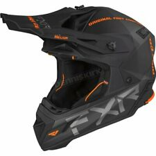 FXR Racing Orange Helium Ride Co. Helmet - SIZE: LARGE