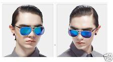 New Polarized Clip On Sunglasses Clip On Glasses Aviator UV400 Blue