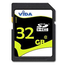 32GB SD SDHC Clase 10 Tarjeta de memoria Memory Card para Nikon Coolpix S5100