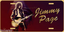 JIMMY PAGE LED ZEPPELIN ART LICENSE PLATE