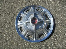 one genuine 1966 Ford Fairlane 14 inch spinner hubcap wheel cover