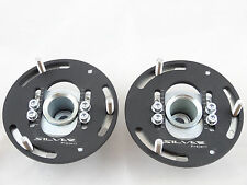 Camber Plates for E36 3D Drift BMW top mounts Front x2 - Domlager black