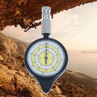 Outdoor Hiking Camping Map Measuring Gauge Range Finder Meter Scale Compass W