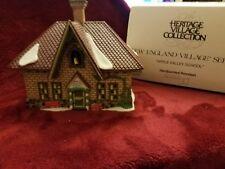 Dept. 56 Apple Valley School New England Christmas Village Series #56172 Nice!
