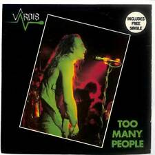 "Vardis - Too Many People - 7"" Vinyl Record Single"